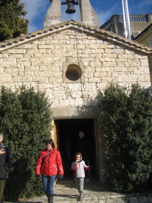 visita a la capella del Portell