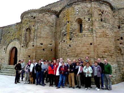 visita a Talteüll dels Amigos del Románico