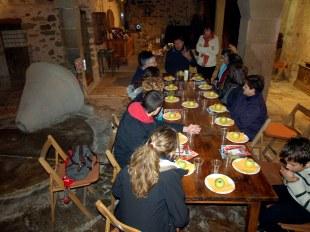 tast i maridatge d'olis a Torà