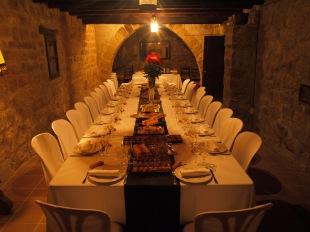 sopar d'empresa al Castell de les Sitges