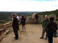 visita al capdamunt de la Torre de Vallferosa