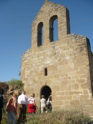 visita a Sant Pere de les Sitges