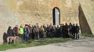 visita del grup Sàpiens al Castell de les Sitges