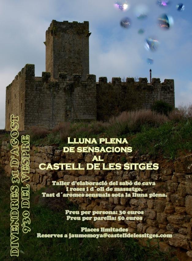 Tallers de sabó i olis sensuals al Castell de les Sitges