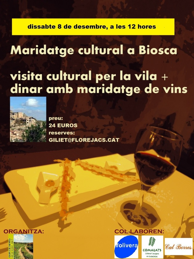 maridatge a Biosca, 8-12-12