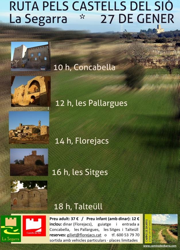 Ruta pels Castells del Sió