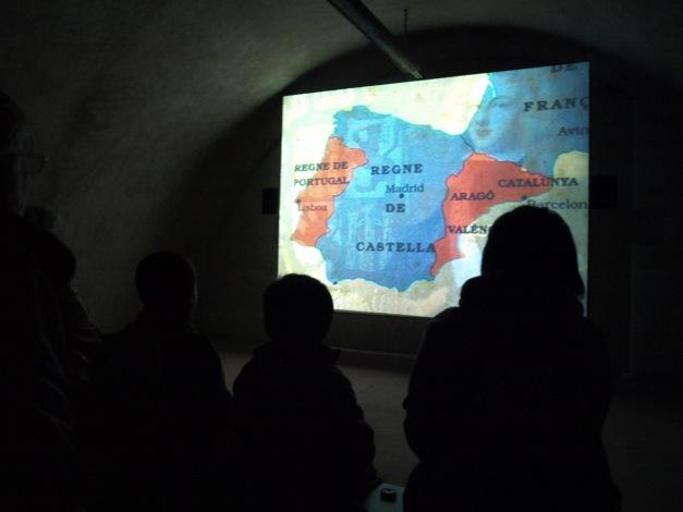 audiovisual sobre la batalla dels Prats de Rei