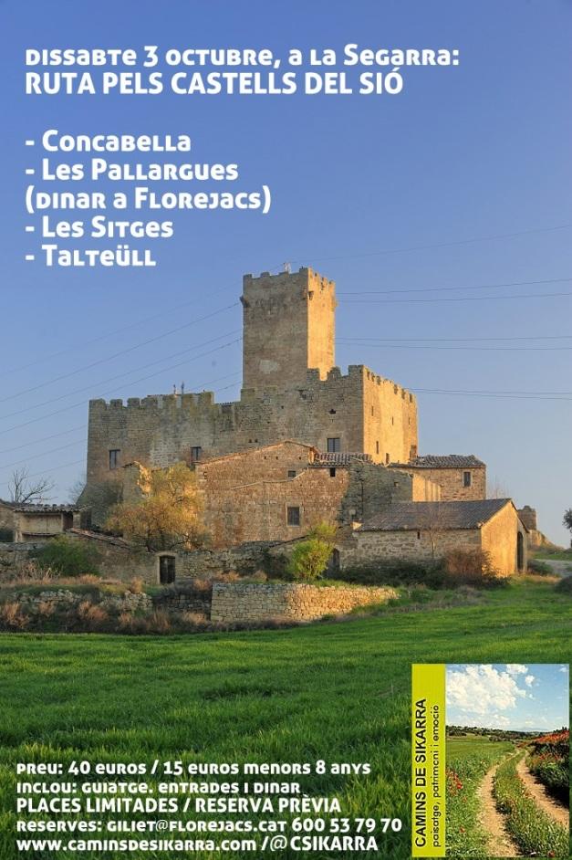 Castell de les Sitges. Florejacs. La Segarra